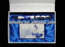 Best selling Blue and white Porcelain Ceramic gift set