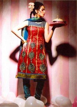 Indian Designer Dress-Rivaa
