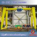 indústria de equipamentos de viga único montado em trilho viajar gantry crane