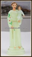 religious holy family plastic statue