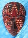 Batik Flag mask.