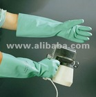 18 inch Long Nitrile Unlined Gloves
