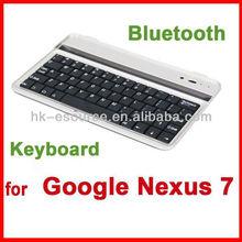 Wireless Bluetooth USB Keyboard Case Cover for Google Nexus 7