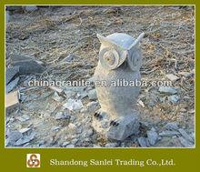 garden owl animal stone carving