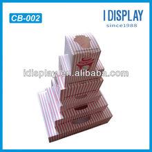 China point of sale POP Cardboard wedding cake box