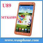 "Star U89 Note 2 MTK6589 Quad Core 1GB+4GB 6"" big screen Dual SIM 3G Unlocked China Android Phone"