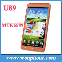 "Star U89 Note 2 MTK6589 Quad Core 1GB+4GB 6"" big screen Dual SIM 3G Unlocked China Android Phone"