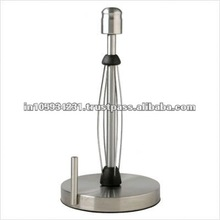 Kitchen towel paper holder with Pointed knob