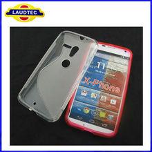 Hot Selling S line TPU Gel Case for Motorola X Phone New X Phone Case Laudtec