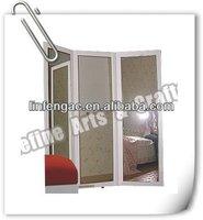 Full length decorative vanity 3 way mirror