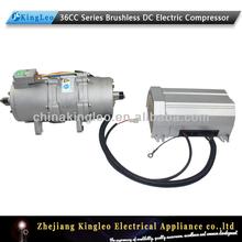 electric car air conditioner 12v compressor for hybrid HVAC system