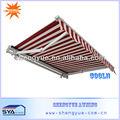 la cubierta de aluminio del techo toldo
