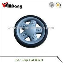 "5.5"" Jeep Flat Wheel"