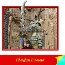 Giant Fiberglass Dinosaur Statue