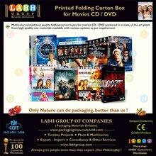 Attractive Duplex Mono Carton for Movies CD & DVD 5