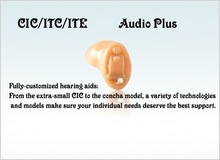 standard size analog mini hearing aids