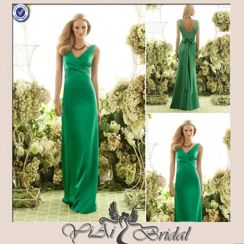 CK0084 High Waist Dark Green Evening Dresses 140x140