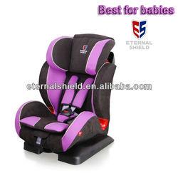 ES02 Secure child car seat conform to ECE R44.04 for 9-36kgs babies