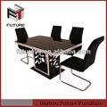 2014 nuevo diseño de comedor mesa y una silla