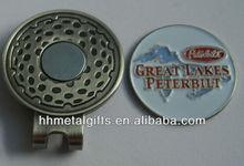 magnetic golf ball marker hat clip/golf hat clip