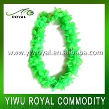 Light Flashing Green Flower Led Glow Hawaiian Leis