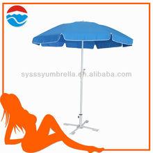 220cm*8k luxury windproof steel patio umbrella