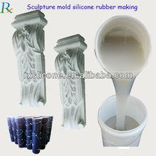 concrete mold making silicone rubber