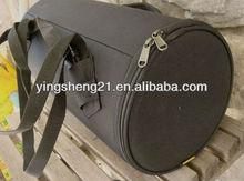 black duffle bag for motorcycle shoulder strap