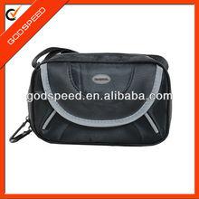 luggage set camera accessory black nylon zipper pouch