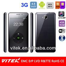 4.5 inch Dual Core Dual Sim small cute mobile phone