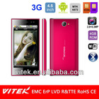 Dual Core 4.5 inch Android cheap slim mobile phone