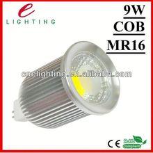 dimmable 12v 3w 5w 6w 9w cob led mr16 downlight