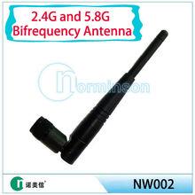 Manufacture 2.4/5ghz wifi antenna,wireless terminal bifrequency antenna