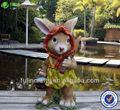 chegada nova decoração do jardim da resina estatueta coelho
