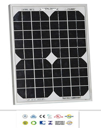 Low price Monocrystalline 5W solar panel manufacturer with aluminum frame
