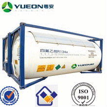 reasonable price for refrigerant gas r134a ISO tank