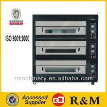 Non Tabletop Bakery Shop Machine,Economic Electric Deck Pizza Oven