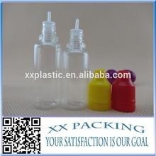 hot sale pet plastic dropper bottle 10ml with childproof tamper cap