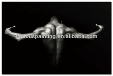 Nude Man Home Decor Frameless Painting