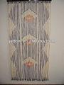 Chinsese persianas de bambú de diseño con cuentas de patrones de cortina