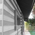 Decorativo painel de parede de bambu ao ar livre
