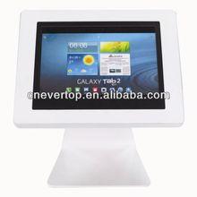 Table top Display Ipad Stand,Kiosk Enclosure for Galaxy Tab2 and Ipad2,3,4