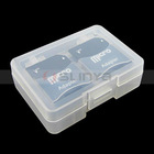 Wholesales Stable Protective Memory Card Case SD MMC / memory card case Plastic SD Card Case