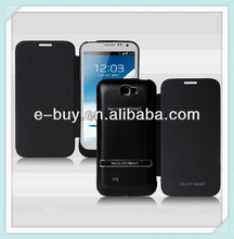 High quatity aluminum alloy power bank case 4200mah for samsung note2 n7100