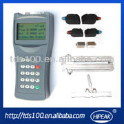 RS232 Handheld flow meter/Battery powered flowmeter