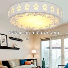 White color ceiling suspender lamp for living room