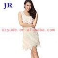 Robe blanche latin robe de danse latine salle de bal sexy costumes l- 7001#