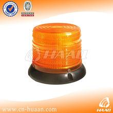 Magnetic amber led and round xenon strobe lights 12V