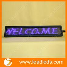 Portable Smart High Definition Money Saving Programmable LED Message