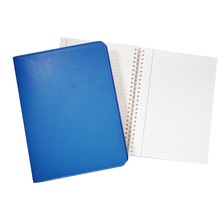 spiral notebook leather cover